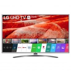 "LED TV LG 50"" 50UM7600PLB UHD SMART SILVER"