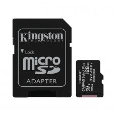 MICRO SD KINGSTON 128GB SELECT PLUS CLASA 10 + ADAPTOR SDCS2/128GB