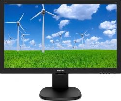 "MONITOR PHILIPS LED 23.6"" FHD BLACK 243S5LHMB/00"