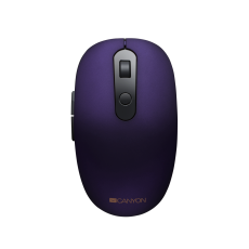 MOUSE CANYON 2 IN 1 WIRELESS 1500DPI PURPLE CNS-CMSW09V