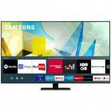 "LED TV SAMSUNG 65"" QE65Q80TATXXH SMART UHD 4K BLACK"