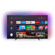 "LED TV PHILIPS 55"" ULTRA HD 4K SMART BLACK 55PUS7805/12"