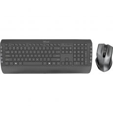 TASTATURA TRUST WIRELESS MULTIMEDIA KEYBOARD+MOUSE 23239