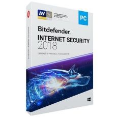 ANTIVIRUS BITDEFENDER INTERNET SECURITY 2018 1AN 5PC DVD BOX WD11031005