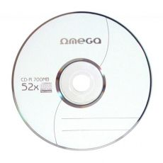 CD-R OMEGA 700MB 52X SPINDLE 10