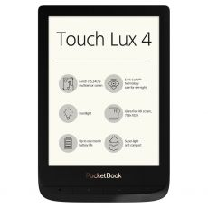 "E-BOOK READER POCKETBOOK TOUCH LUX 4 WIFI 8GB E INK 6"" BLACK PB627-H-WW"