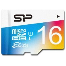 MICRO SD SILICON POWER SDHC 16GB CLASS 1 ELITE + ADAPT SP016GBSTHBU1V20SP