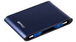 "HARD DISK EXTERN SILICON POWER 2.5"" ARMOR A80 USB3.0 2TB BLUE SP020TBPHDA80S3B"