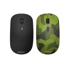 MOUSE CANYON CND-CMSW400M WIRELESS OPTICAL 4 BUTTON MILITARY